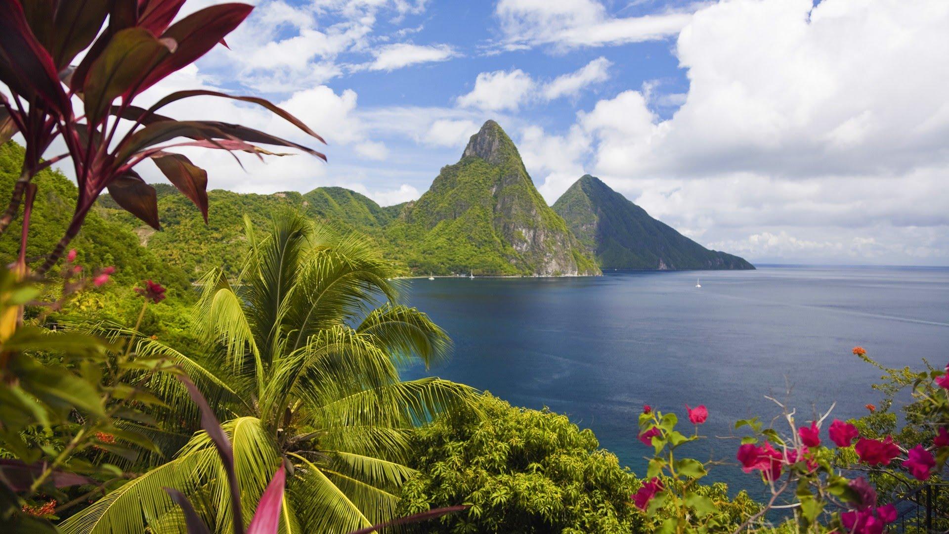 St. Lucia Background Saint Lucia – The Diamond of The Caribbean